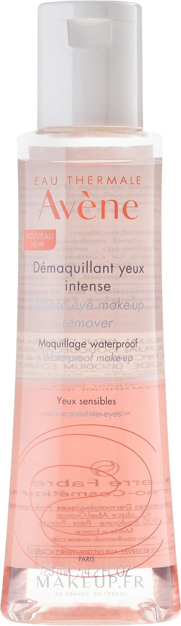 Démaquillant yeux intense - Avene Intense Eye Make-up Remover — Photo 125 ml