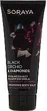 Parfums et Produits cosmétiques Baume lissant aux protéines de soie pour le corps - Soraya Black Orchid & Diamonds Smoothing Body Balm
