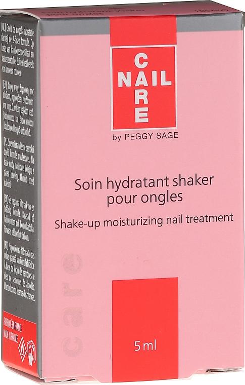 Soin hydratant bi-phasé pour ongles - Peggy Sage Shake-Up Moisturizing Nail Treatment — Photo N2