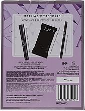 Kit de maquillage(mascara/9ml + eyeliner/5g + lingettes démaquillantes/15pcs) - Joko Makeup Beauty Box  — Photo N5