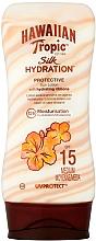 Parfums et Produits cosmétiques Lotion solaire pour corps - Hawaiian Tropic Silk Hydration Sun Lotion SPF 15