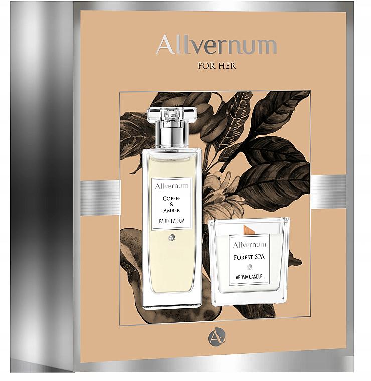 Allvernum Coffee & Amber - Set (eau de parfum/50ml + bougie parfumée/100g)