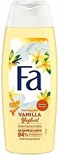Parfums et Produits cosmétiques Gel douche au yaourt, vanille et miel - Fa
