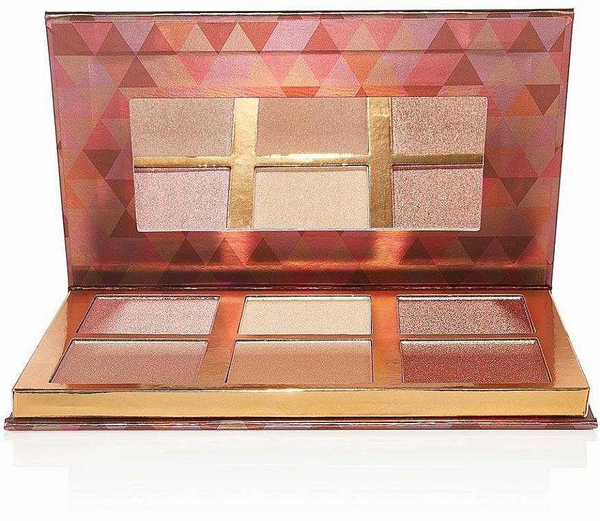 Palette de maquillage, effet éclat - Bellapierre Glowing Palette — Photo N5