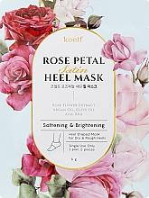 Parfums et Produits cosmétiques Masque à la rose pour talons - Petitfee&Koelf Rose Petal Satin Heel Mask