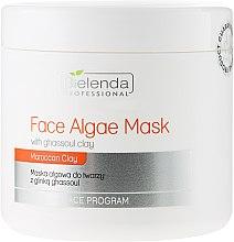 Parfums et Produits cosmétiques Masque aux algues à l'argile ghassoul pour visage - Bielenda Professional Algae Face Mask