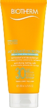 Parfums et Produits cosmétiques Lait solaire pour visage et corps SPF30 - Biotherm Lait Solaire Hydratant Anti-Drying Melting Milk