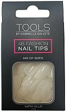 Parfums et Produits cosmétiques Gabriella Salvete Tools Nail Tips 48 - Faux ongles avec colle