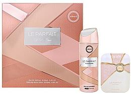 Parfums et Produits cosmétiques Armaf Le Parfait Pour Femme - Coffret cadeau (eau de parfum/100ml + déodorant/200ml)