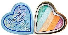 Parfums et Produits cosmétiques Illuminateurs pour visage et yeux - Makeup Revolution I Heart Makeup Mermaid's Heart Highlighter