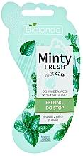 Parfums et Produits cosmétiques Gommage à la menthe pour pieds - Bielenda Minty Fresh Foot Care Refreshing & Smoothing Foot Peeling