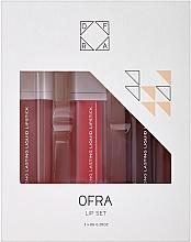 Parfums et Produits cosmétiques Set (rouge à lèvres/3x8g) - Ofra Nikkie Tutorials Lip Set