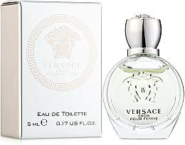 Parfums et Produits cosmétiques Versace Eros Pour Femme - Eau de Toilette (mini)