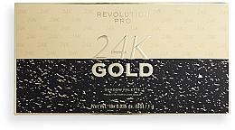 Parfums et Produits cosmétiques Palette de fards à paupières - Revolution PRO 24K Gold Eye Shadow Palette