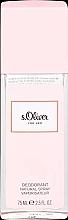 Parfums et Produits cosmétiques S.Oliver For Her - Déodorant spray parfumé