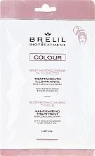 Parfums et Produits cosmétiques Masque illuminateur express pour cheveux colorés - Brelil Bio Treatment Colour Biothermic Mask Tissue
