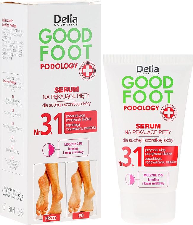 Sérum 25% d'urée talons crevassés - Delia Good Foot