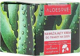 Parfums et Produits cosmétiques Crème de jour au jus d'aloe vera bio pour visage - Aloesove