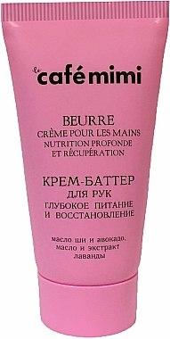 Crème-beurre au beurre de karité et avocat pour mains - Le Cafe de Beaute Cafe Mimi Hand Cream Oil