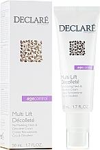 Parfums et Produits cosmétiques Crème remodelante à l'huile de macadamia pour cou et décolleté - Declare Age Control Multi Lift Decollete Re-Modeling Neck