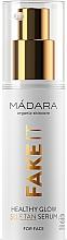 Parfums et Produits cosmétiques Sérum auto-bronzant à l'acide hyaluronique pour visage - Madara Cosmetics Fake It Healthy Glow Self Tan Serum