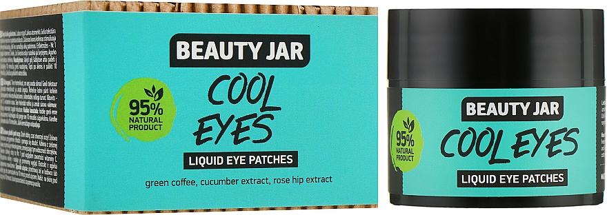 Patchs liquides au café vert et extrait de concombre pour contour des yeux - Beauty Jar Liquid Eye Patches