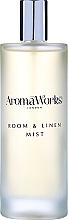 Parfums et Produits cosmétiques Spray d'ambiance, Genévrier et encens - AromaWorks Soulful Room Mist