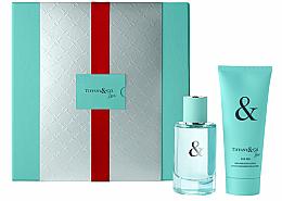 Parfums et Produits cosmétiques Tiffany & Co Love For Her - Coffret (eau de parfum/50ml + lotion corporelle/100ml)