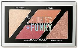 Parfums et Produits cosmétiques Palette de maquillage - Holika Holika Chunky Funky So Funk Multi Blusher Palette