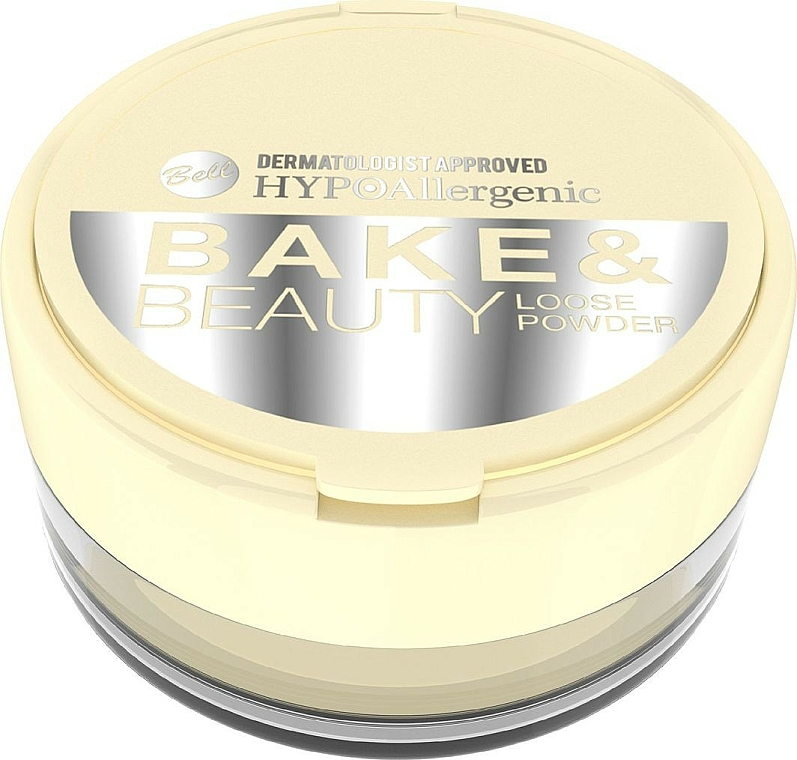 Poudre libre pour visage - Bell HypoAllergenic Bake & Beauty Loose Powder