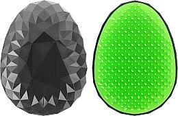 Parfums et Produits cosmétiques Brosse à cheveux, noir-vert - Twish Spiky Hair Brush Model 2 Midnight Black