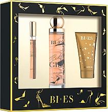 Parfums et Produits cosmétiques Bi-Es Selfie Girl - Coffret (eau de parfum /100ml + eau de parfum/12ml + gel douche/50ml)