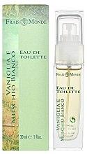 Parfums et Produits cosmétiques Frais Monde Vanilla And White Musk - Eau de Toilette