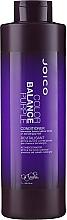 Après-shampooing violet déjaunisseur pour cheveux blonds - Joico Color Balance Purple Conditioner — Photo N1