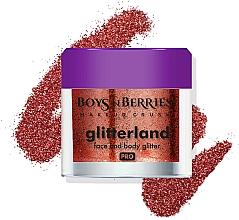 Parfums et Produits cosmétiques Paillettes pour visage et corps - Boys'n Berries Glitterland Face and Body Glitter