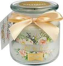 Parfums et Produits cosmétiques Bougie parfumée en jarre, 10 x 11 cm, 360 g - Artman All the Best