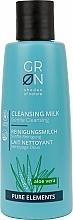 Parfums et Produits cosmétiques Lait nettoyant à l'aloe vera pour visage - GRN Pure Elements Aloe Vera Cleansing Milk