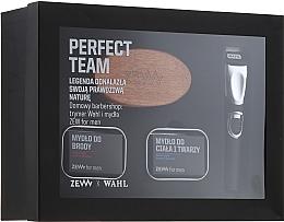 Parfums et Produits cosmétiques Coffret cadeau - Zew Wahl (soap/2x85ml + brush + trimmer)