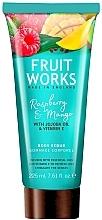 Parfums et Produits cosmétiques Gommage pour corps, Framboise et mangue - Grace Cole Fruit Works Body Scrub Raspberry & Mango