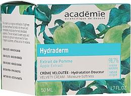 Parfums et Produits cosmétiques Crème à l'extrait de pomme pour visage - Academie Velvety Cream Hydrating Treatment