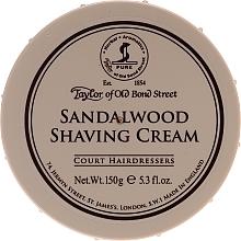 Parfums et Produits cosmétiques Crème à raser au bois de santal - Taylor of Old Bond Street Sandalwood Shaving Cream Bowl