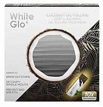 Parfums et Produits cosmétiques Traitement à l'huile de noix de coco pour l'hygiène bucco-dentaire - White Glo Coconut Oil Pulling