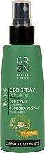 Parfums et Produits cosmétiques Déodorant spray à l'extrait de calendula bio - GRN Deo Spray Calendula