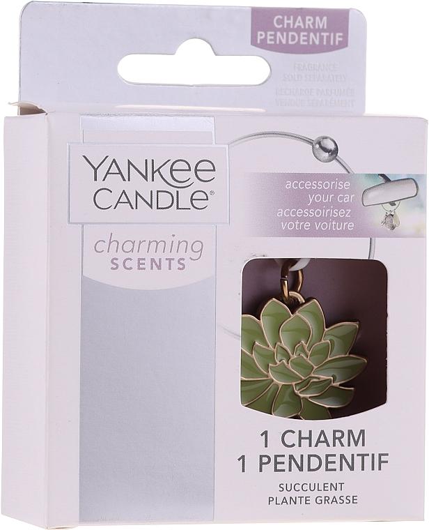 Pendentif succulente pour voiture - Yankee Candle Succulent Charming Scents Charm — Photo N1