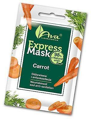 Masque à l'extrait de carotte pour visage - Ava Laboratorium Beauty Express Mask Carrot