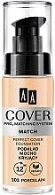 Parfums et Produits cosmétiques Fond de teint - AA Cover PRO3 Matching System Match