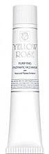Parfums et Produits cosmétiques Masque purifiant enzymatique à la levure pour visage (tube) - Yellow Rose Purifying Enzymatic Face Mask