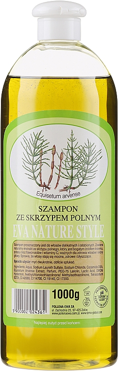 Shampooing à la prêle - Eva Natura Nature Style Horsetail Shampoo — Photo N1