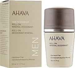 Parfums et Produits cosmétiques Déodorant aux minéraux de la mer Morte - Ahava Time To Energize Men's Roll-On Mineral Deodorant
