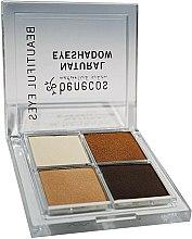 Parfums et Produits cosmétiques Palette de fards à paupières - Benecos Natural Quattro Eyeshadow